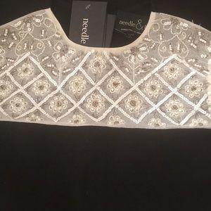 Needle & Thread Dresses - Needle & Thread embellished black and white dress